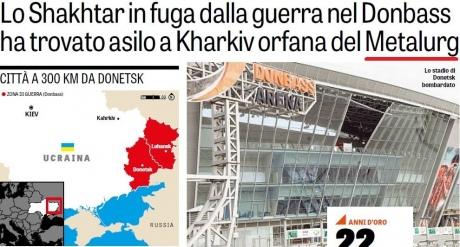 Відоме спортивне видання Італії вказало Крим частиною Росії