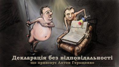 Photo of Декларація без відповідальності. Що приховує Антон Геращенко.