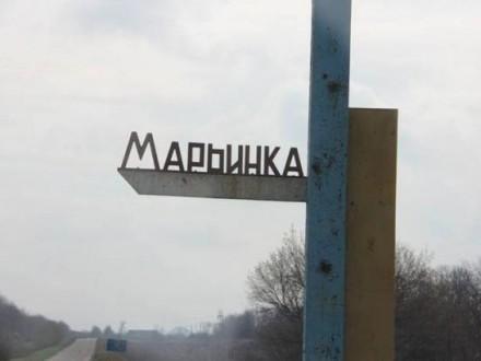 Жебрівський: Бойовики обстріляли Мар'їнку, поранено мирних мешканців