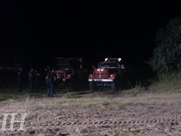 Масштабна пожежа вХерсонській області: ліс рятують понад сто осіб