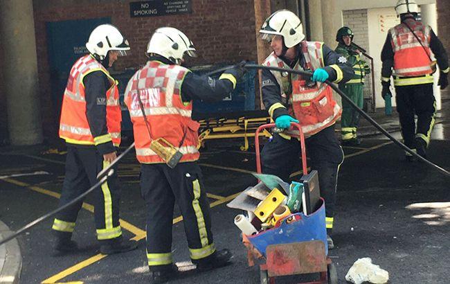 Врезультаті пожежі вметро Лондона постраждали четверо людей