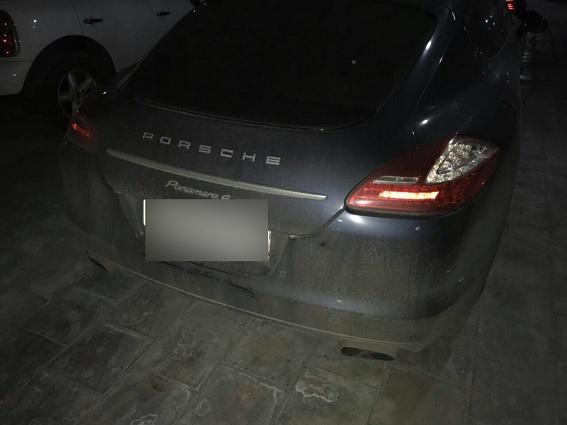 Автомобіль футболіста Гармаша обстріляли заборги