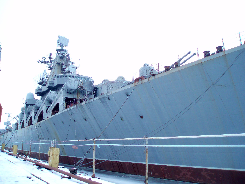 Україна відмовилася від ракетного крейсера