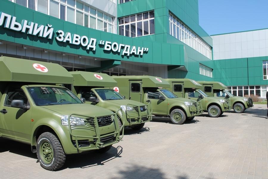 Виробництво санітарних «Богданів» тимчасово припинено,— Міноборони