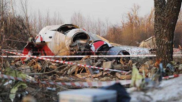 Польща вчерговий раз вимагає відРФ повернути уламки літака Качинського