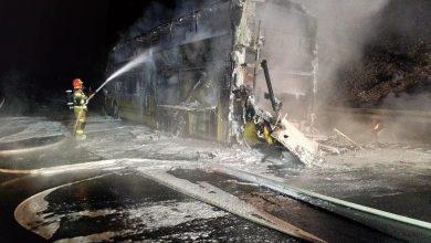 Photo of У Польщі повністю згорів автобус Київ-Прага