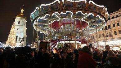 Photo of Новий рік на Софійській площі у Києві зустріли понад 100 тисяч людей