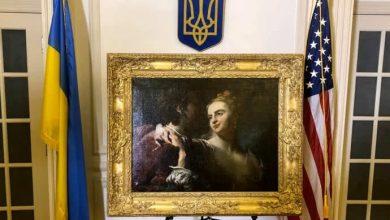 Photo of США повернули Україні викрадену нацистами картину