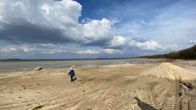 Photo of Найбільше озеро України Світязь рекордно обміліло