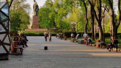 Photo of В центральному парку Києва десятки людей масово порушують карантин (фото)