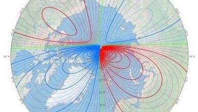 Photo of Вчені з'ясували, що Північний магнітний полюс Землі рухається у бік Сибіру (відео)