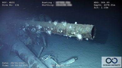 Photo of Біля узбережжя Гаваїв знайшли рештки військового корабля, який пережив дві світові війни