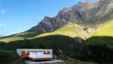 Photo of У горах Швейцарії просто неба відкрився готель