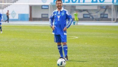 Photo of Зеленський спробував зіграти в футбол з мером Каховки