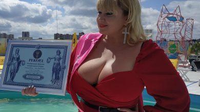 Photo of Найбільші жіночі натуральні груди в Україні: полтавчанка стала рекордсменкою
