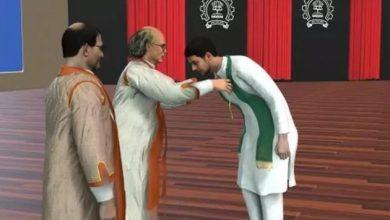 Photo of В Індії університет вручив дипломи студентам у віртуальній реальності