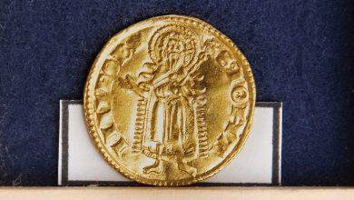 Photo of Скарб із золотих і срібних монет XIV століття знайдено в Чехії