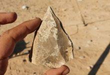 Photo of Археологи знайшли в Ізраїлі кам'яні наконечники, віком 100 тисяч років