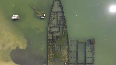 Photo of В мережі показали, як виглядає кладовище кораблів в Азовському морі