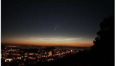 "Photo of Астрономи ""роздягли"" найяскравішу за 23 роки комету"