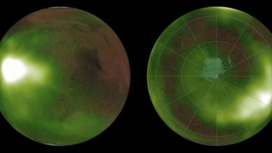 Photo of На Марсі виявили загадкове світіння