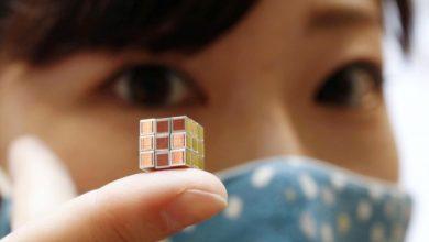 Photo of Японці створили найменший у світі кубик Рубіка