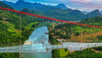 Photo of Китайці відкрили найдовший у світі підвісний скляний міст