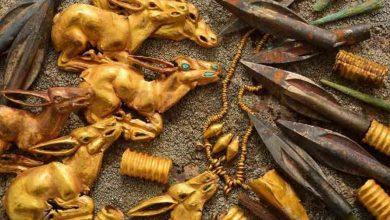 Photo of Археологи у Казахстані знайшли золоті скарби скіфо-сакської епохи