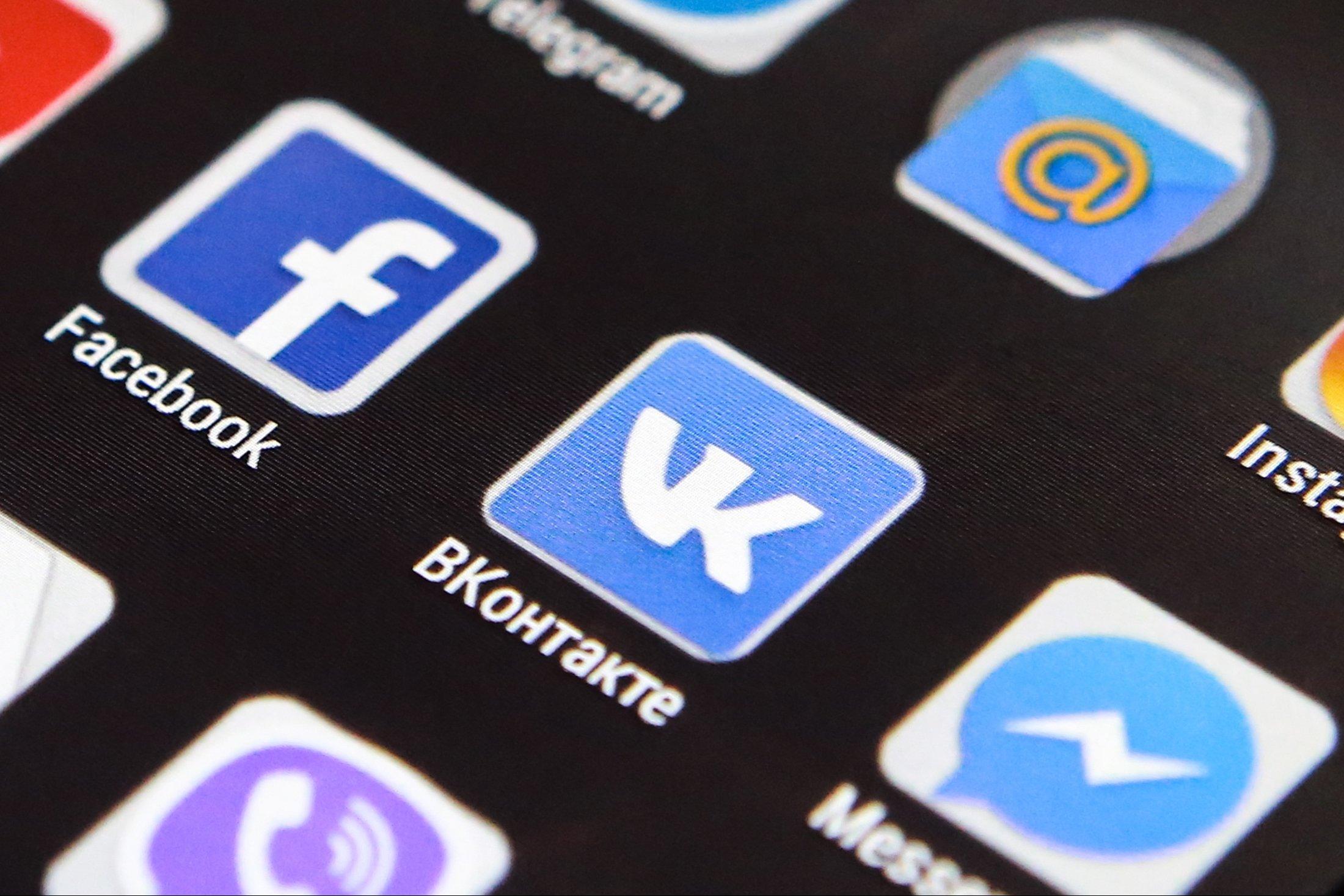 Російська соцмережа Вконтакте обійшла блокування в Україні