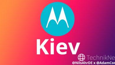 Photo of Motorola назвала смартфон на честь Києва