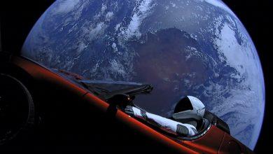 Photo of Електромобіль Tesla зблизився з Марсом