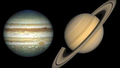 """Photo of Юпітер та Сатурн будуть виглядати як одна """"подвійна планета"""" вперше з часів Середньовіччя"""