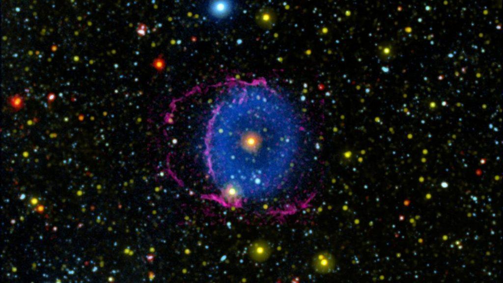 Вчені з'ясували, як утворилася туманність «Синє Кільце»