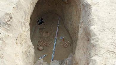 Photo of Археологи знайшли на запорізькій Хортиці вціліле скіфське поховання