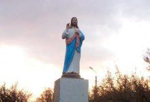 Photo of У Запорізькій області замість Леніна встановили скульптуру Ісуса Христа