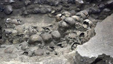 Photo of Мексиканські археологи розкопали нові частини ацтекської вежі з черепів