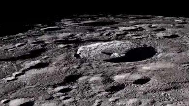 Photo of У мережу виклали захоплююче відео польоту над Місяцем на висоті 100 км