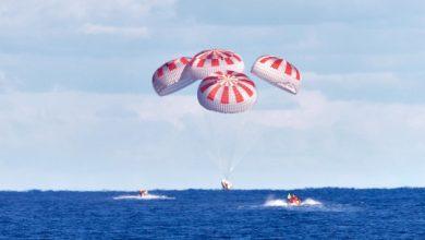 Photo of В Атлантиці успішно приводнився Cargo Dragon